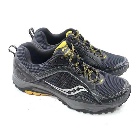 Saucony Grid Excursion TR9 BlackYellow Sneakers
